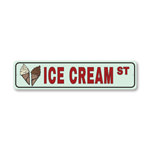 Ice Cream Street, Pantry Sign, Home Kitchen Sign