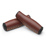 Electra Ergo Vintage Brown Grips - Long/ Long