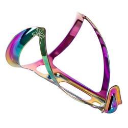 Supacaz Fly Cage Ano Aluminum Bottle Cage - Oil Slick (18g)