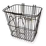"Basil Memories ""Bottle"" Rear Shopper Basket - Black"
