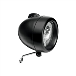 Electra Retro Headlight Black
