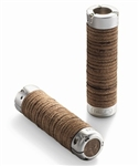 Brooks Leather Ring Grips Brown