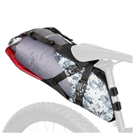 Blackburn Outpost Seat Pack and Dry Bag - Grey Digi Camo