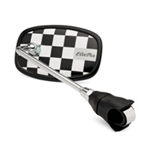 Electra Checkerboard Mirror Black