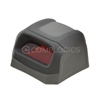 Motorola Scan Hood / Turret comes with red scan lens.  Lens includes anti-glare and surface hardness coating. Replacement for OEM P/N: 8710-050030-00.