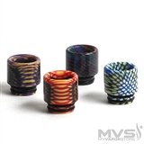 810 Weave Resin Wide Bore Drip Tip