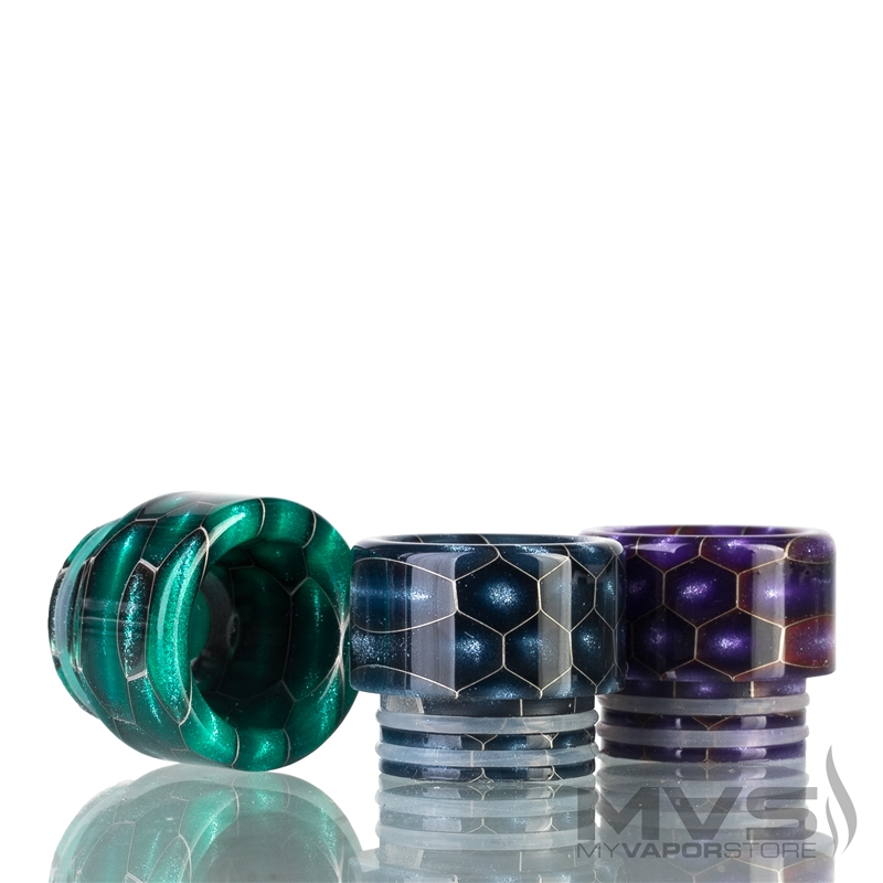 810 Hex Resin Wide Bore Drip Tip