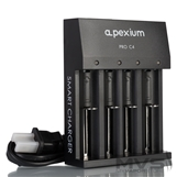 Apexium PRO C4 18650 Charger