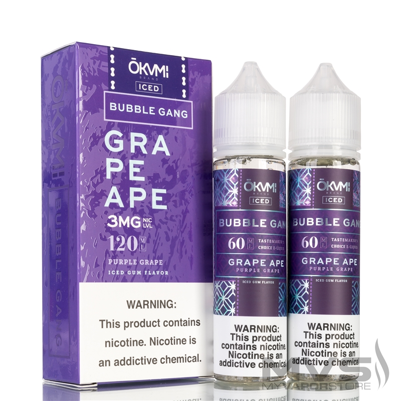 Iced Grape Ape by Bubble Gang eJuice