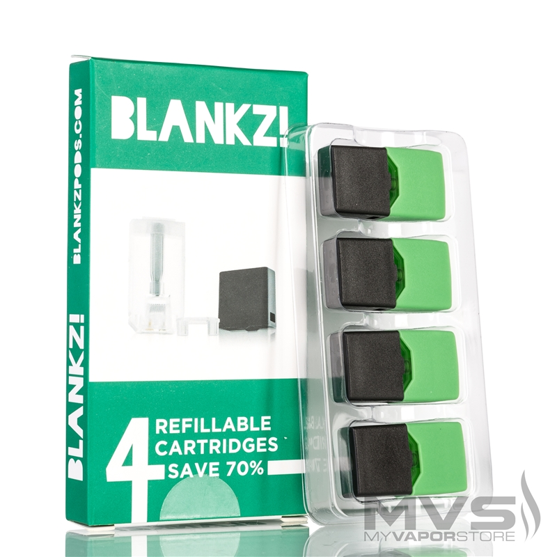 JUUL Compatible BLANKZ! Refillable Pods