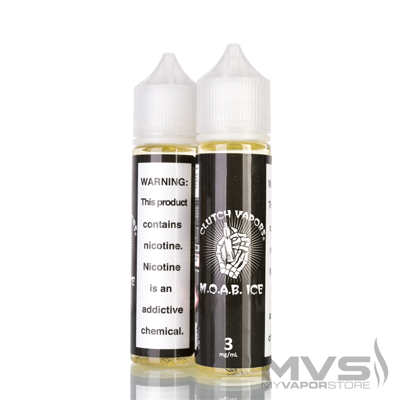 MOAB Ice by Clutch Vapor eJuice - 60ml