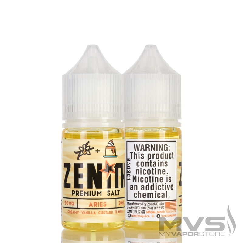 Aries by Zenith E-Juice Salt - 30ml