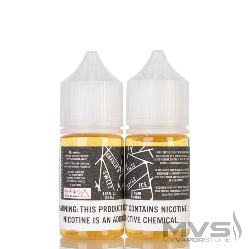 Sweet Apple Ice by Charlie's Chalk Dust Salts E-Liquid