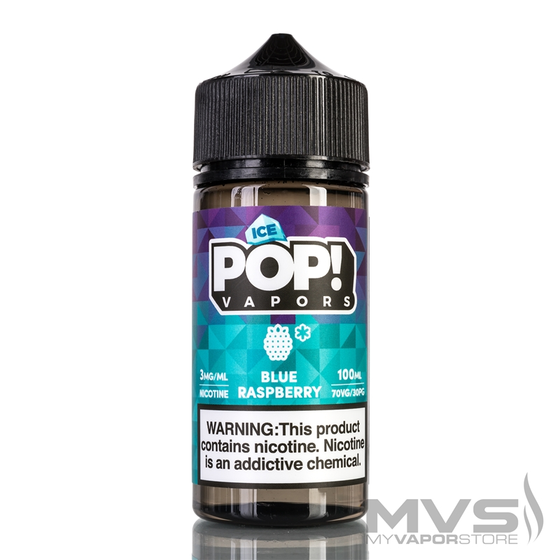 Blue Raspberry Hard Candy by Iced Candy Pop! eJuice