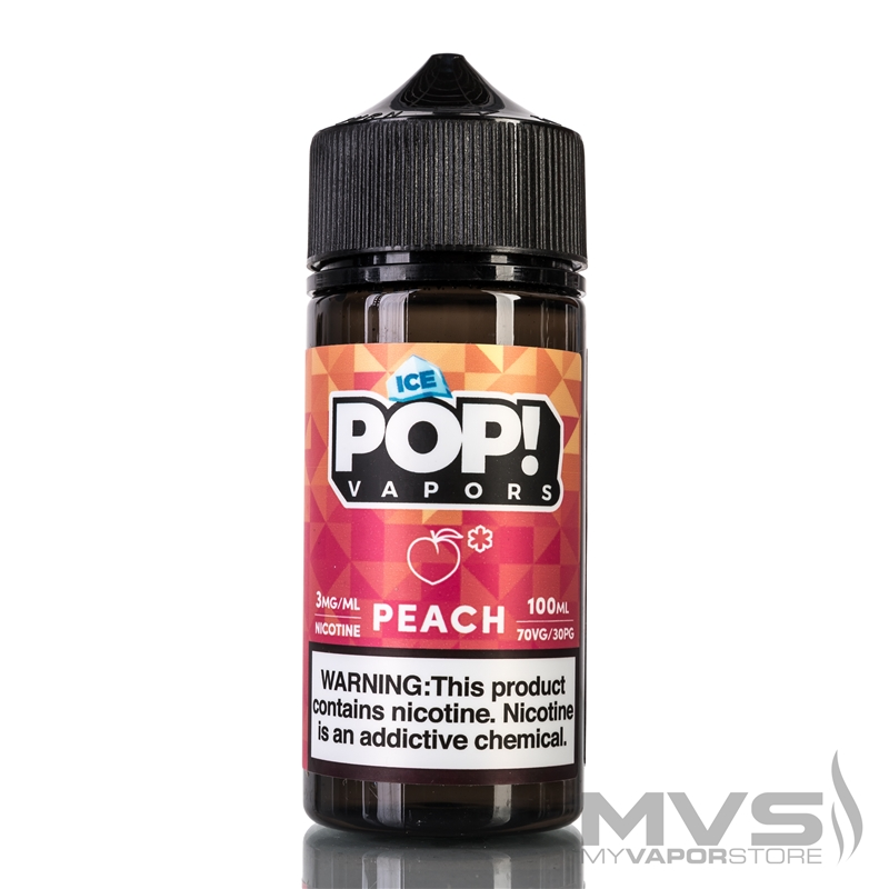 Peach Gummies by Iced Candy Pop! eJuice