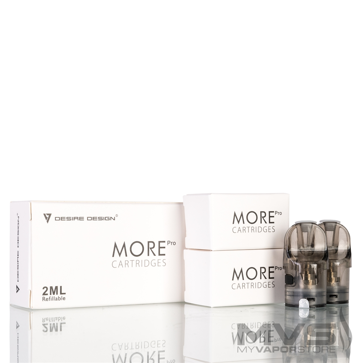 Desire More Pro Replacement Coil Cartridges Pack Of 4