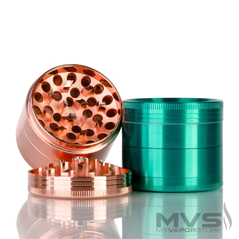 Chromium Crusher Vortex 4 Part Tobacco Grinder