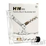 HW Mini Twisty Glass Pipe Bubbler Kit