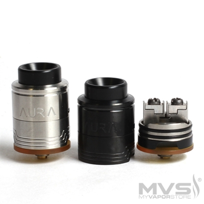 Aura RDA Rebuildable Dripping Atomizer by Digiflavor and DJLsb Vapes