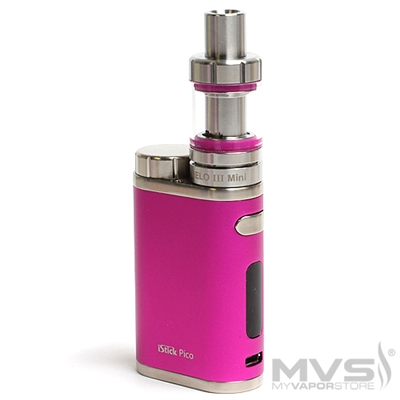 iSmoka Eleaf iStick Pico 75W Melo 3 Mini Kit - Hot Pink