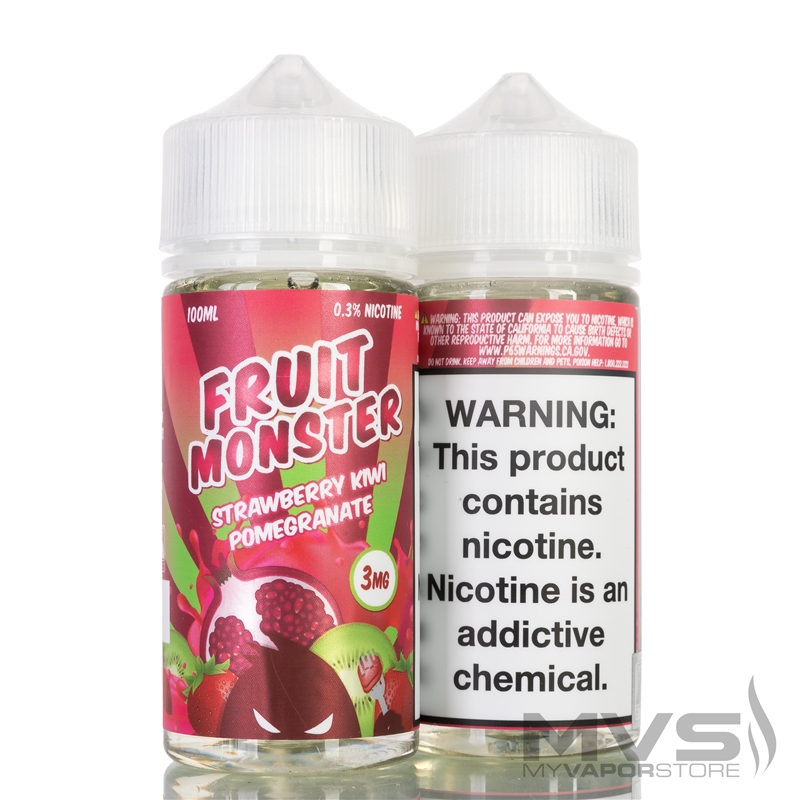 Strawberry Kiwi Pomegranate by Fruit Monster eJuice