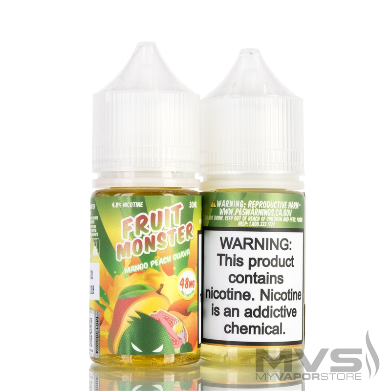 Mango Peach Guava by Fruit Monster Nic Salt eJuice