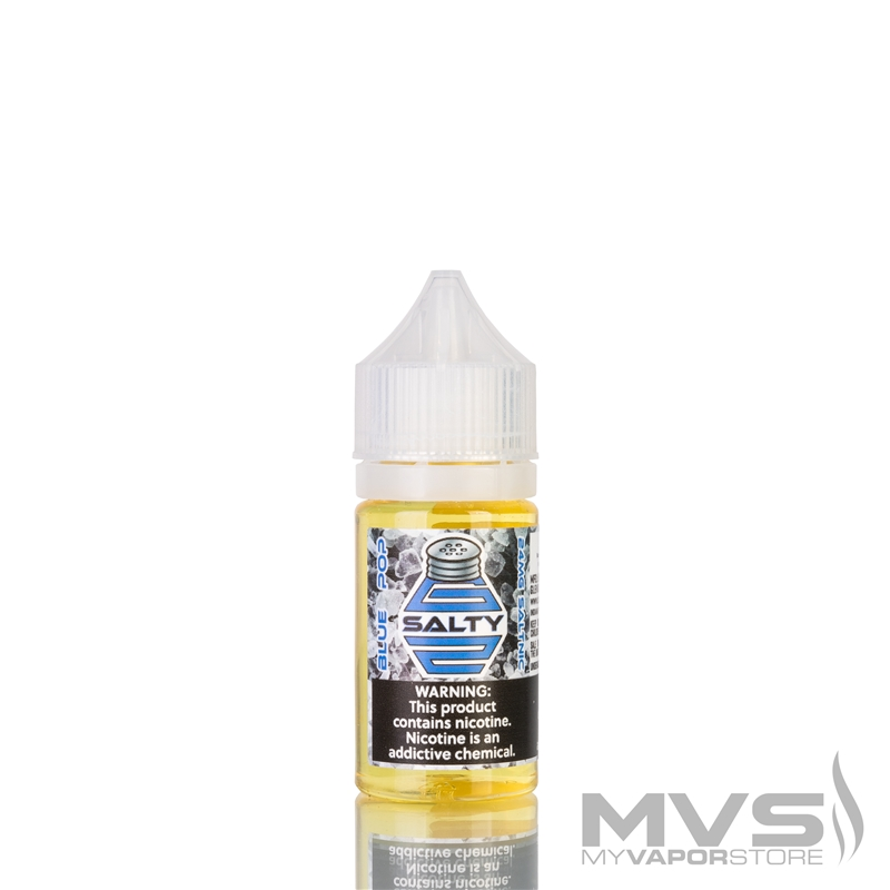 Blue Pop by G2 Salty EJuice