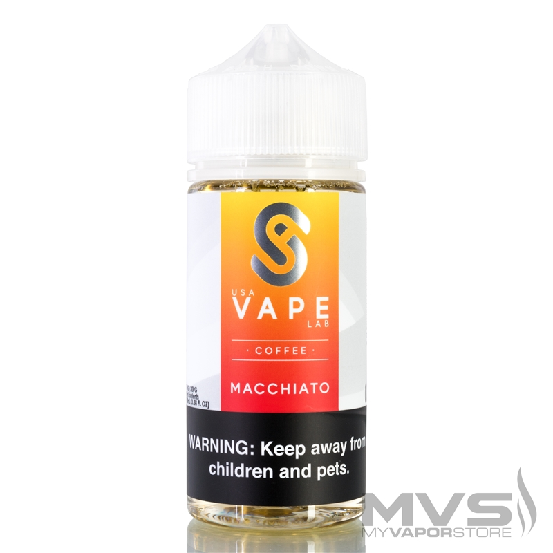 Macchiato by USA Vape Lab Coffee - 100ml