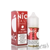 Fruit by Nic Salt Gost Vapor EJuice