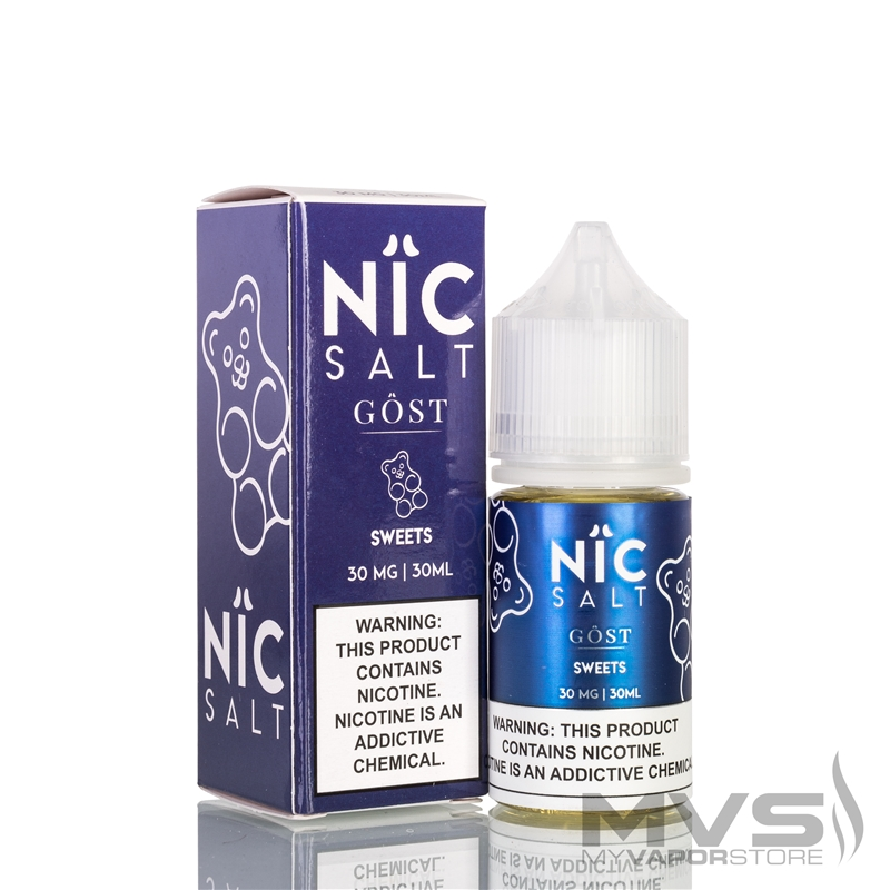 Sweets by Nic Salt Gost Vapor EJuice