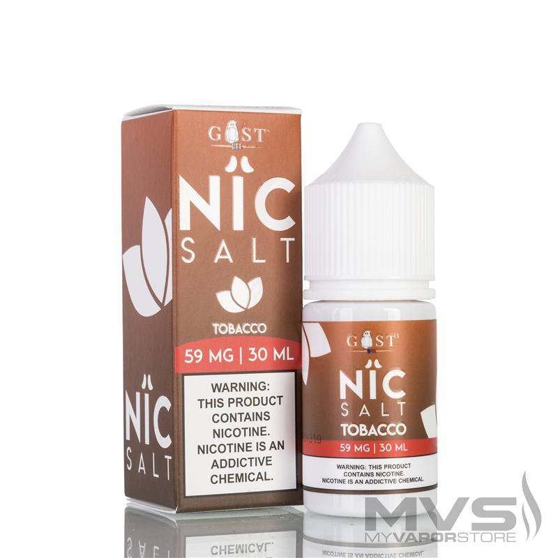 Tobacco by Nic Salt Gost Vapor EJuice