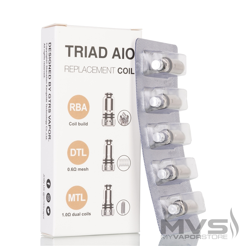 GTRS Triad AIO Atomizer Head - Pack of 5