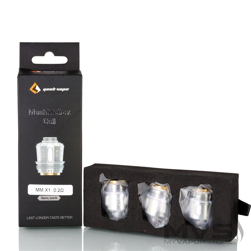 GeekVape MeshMellow Coil Atomizer Head - Pack of 3