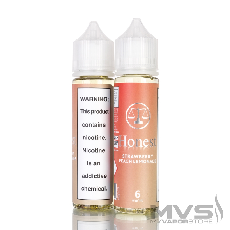 Strawberry Peach Lemonade by Honest Ejuice