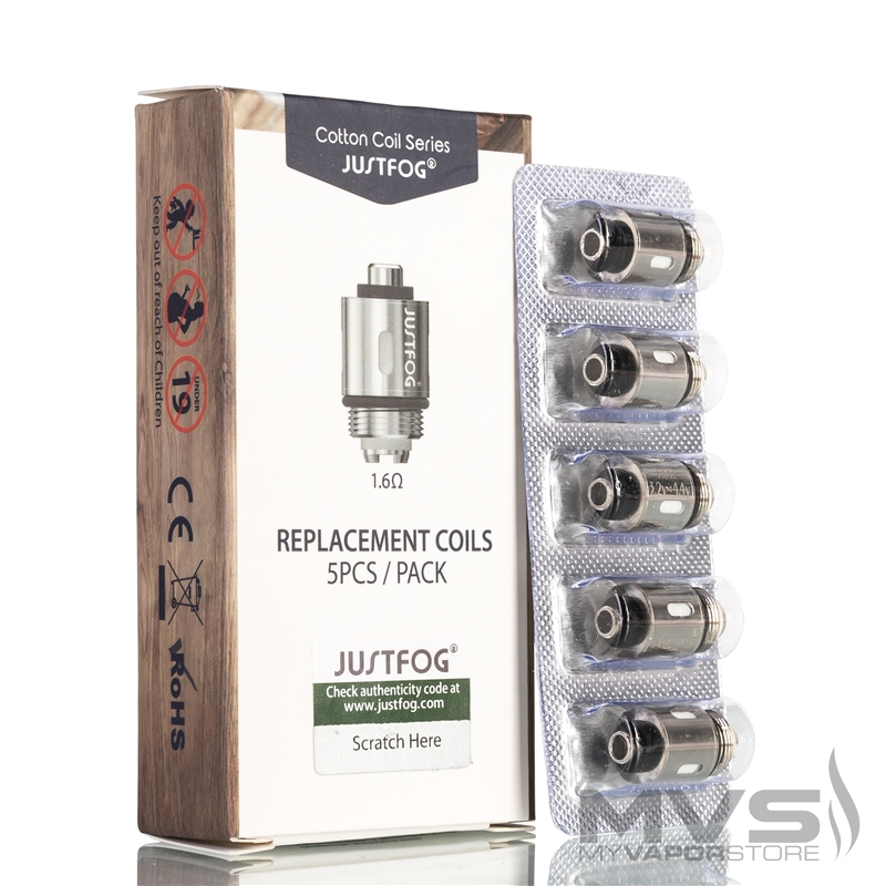 Justfog QPod Atomizer Head - Pack of 5