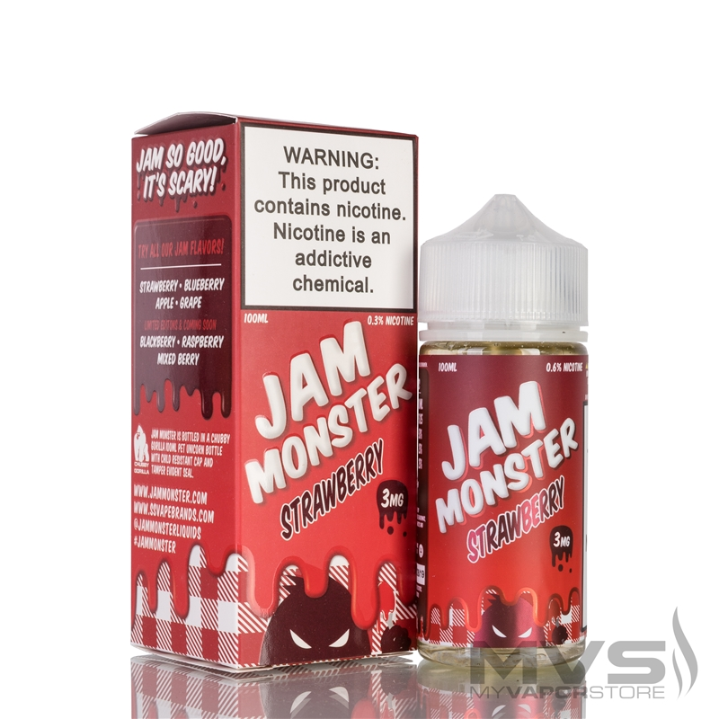 Strawberry by Jam Monster eJuice