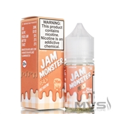 Peach by Jam Monster Nic Salt eJuice