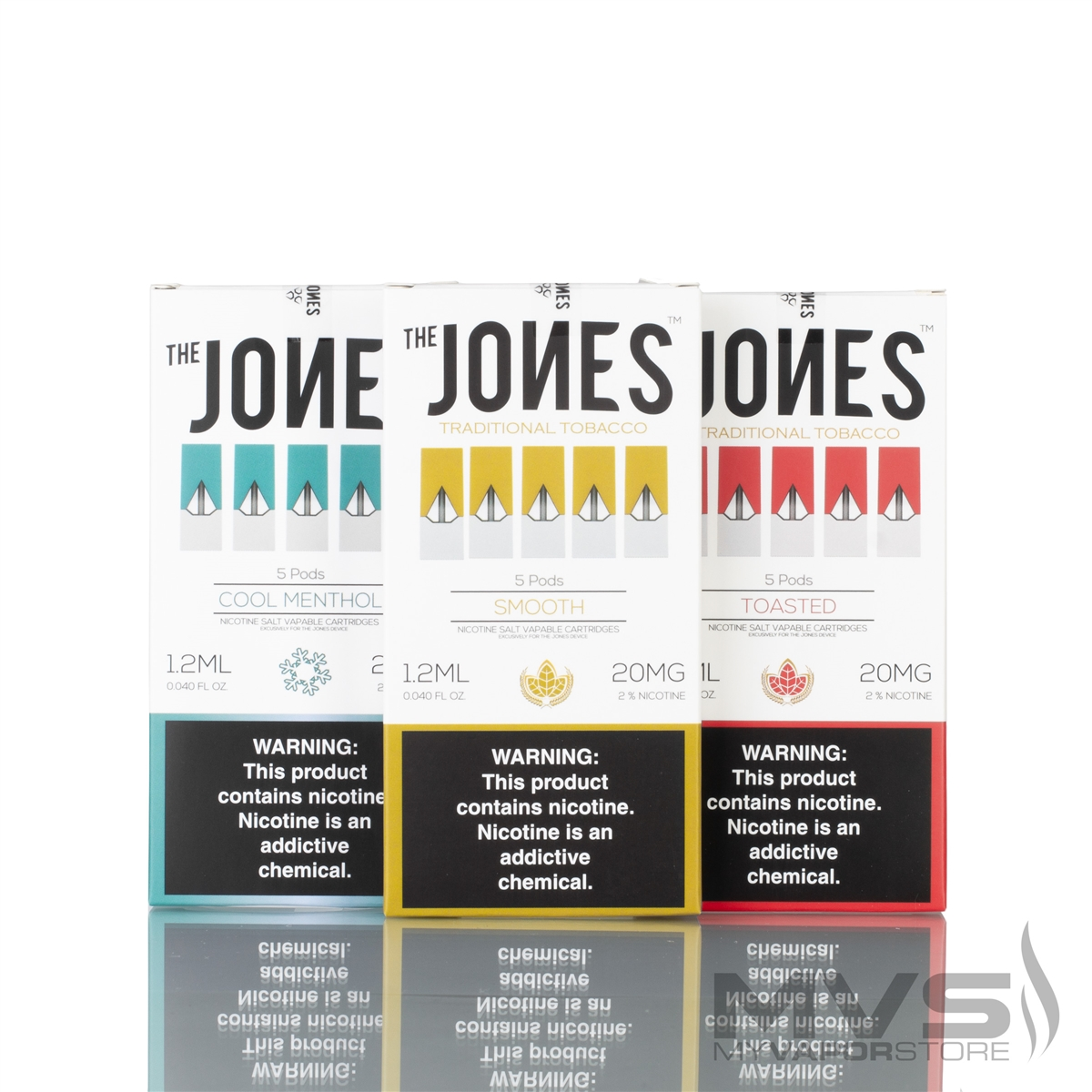 The Jones Flavor Pods - Pack of 5