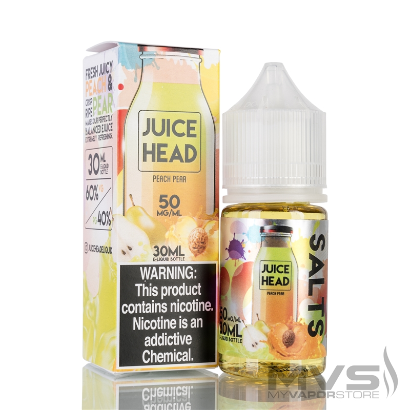 Peach Pear by Juice Head Salts EJuice