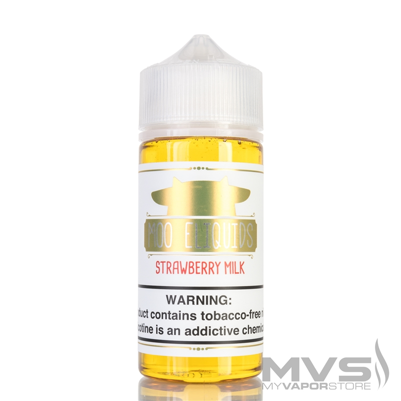 Strawberry Milk by Moo E-Liquids - 100ml