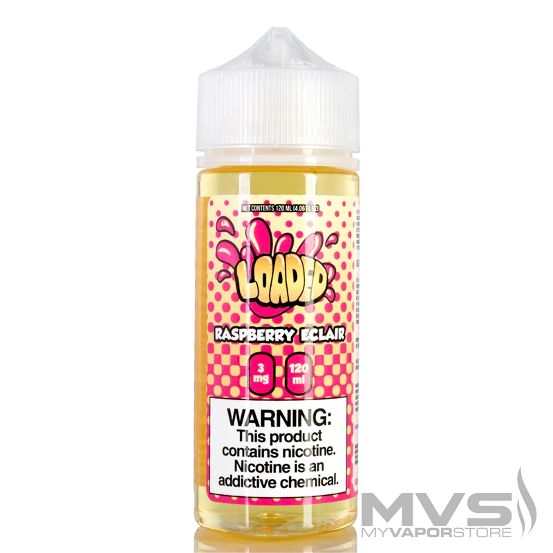 Raspberry Eclair by Loaded EJuice