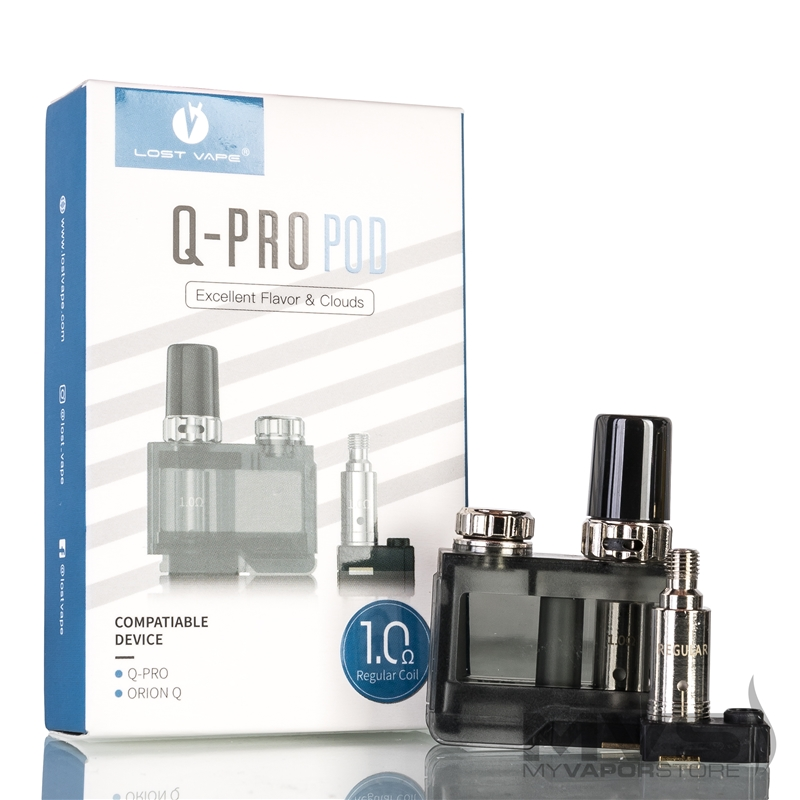 Lost Vape Q-Pro Pod Empty Cartridge