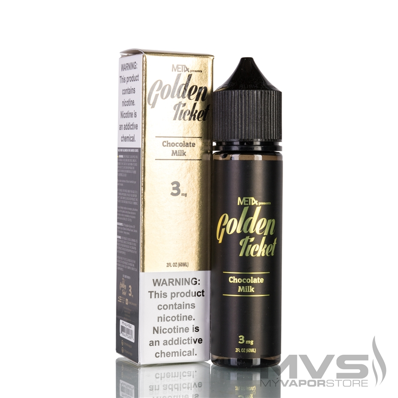 Golden Ticket by MET4 Vapor EJuice