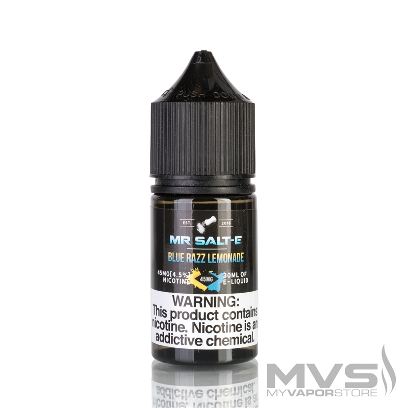 Blue Razz Lemonade by Mr. Salt-E eJuice