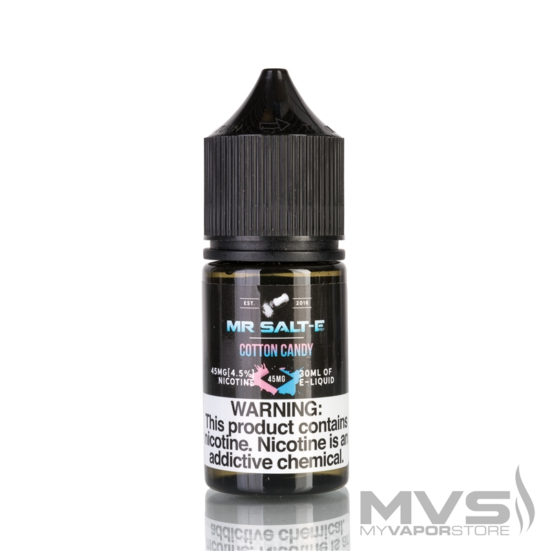 Cotton Candy by Mr. Salt-E eJuice