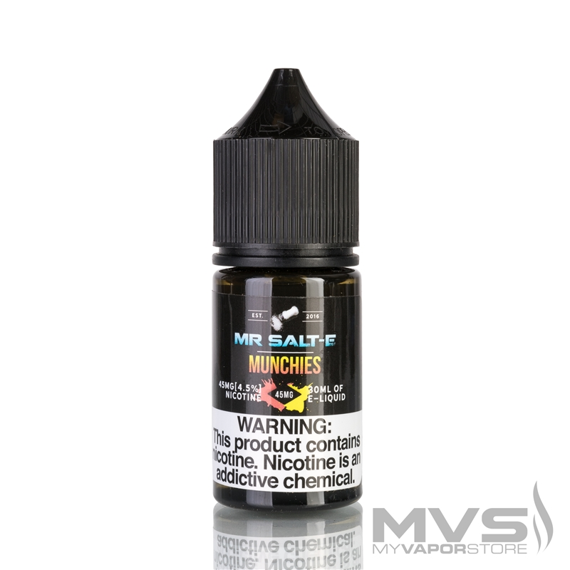 Munchies by Mr. Salt-E eLiquid
