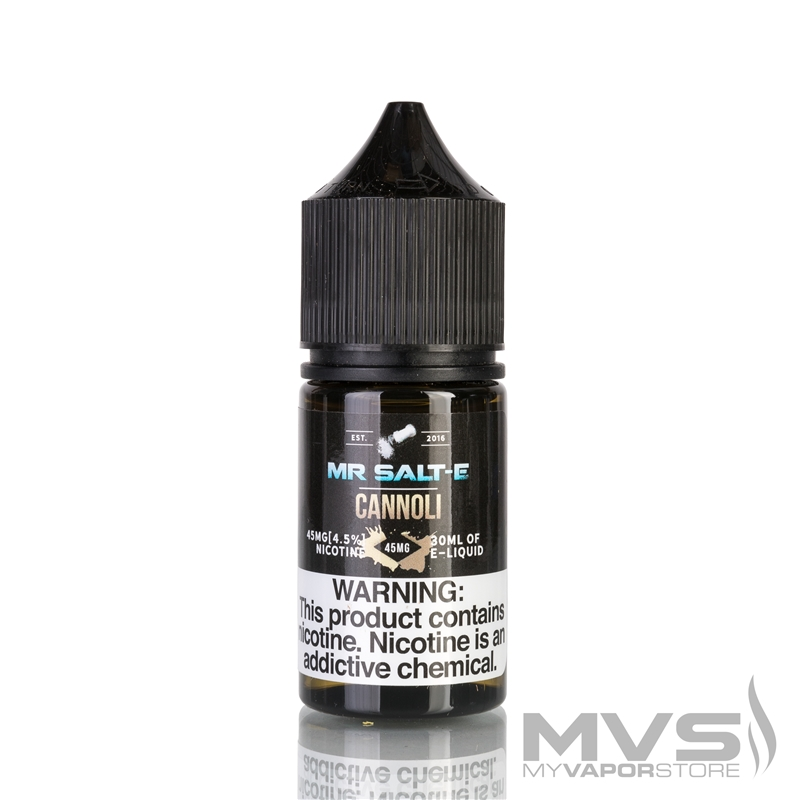 Cannoli by Mr. Salt-E eJuice