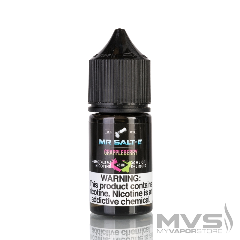 GrappleBerry by Mr. Salt-E eJuice