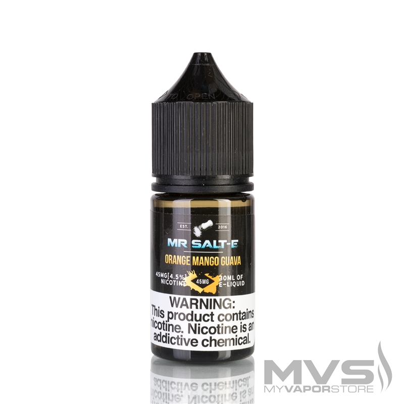 Orange Mango Guava by Mr. Salt-E eJuice