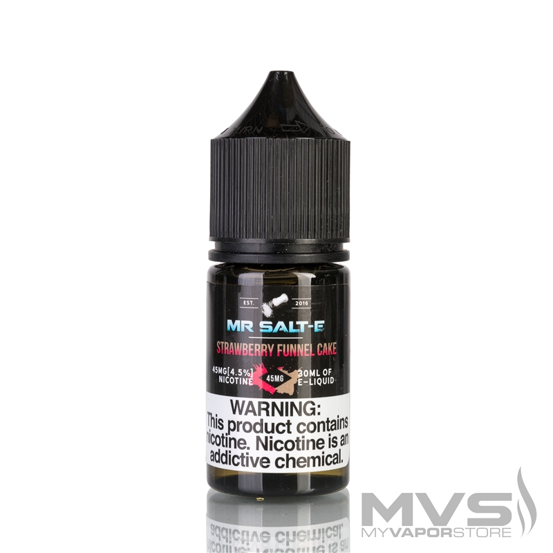 Strawberry Funnel Cake by Mr. Salt-E eJuice